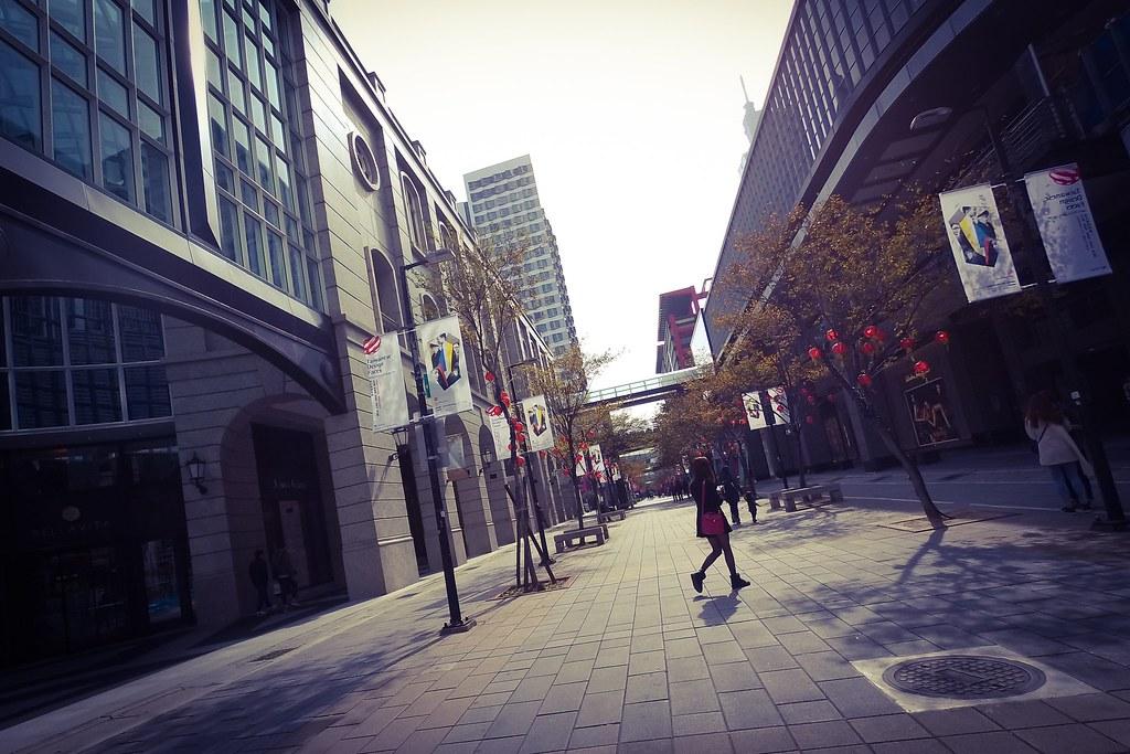 Girl's Walking
