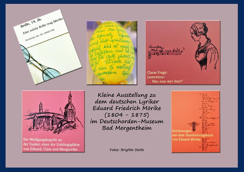 Eduard Mörike Lyriker Gedichte Bad Mergentheim Literatur Foto Brigitte Stolle