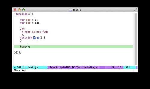 Emacs + Tern