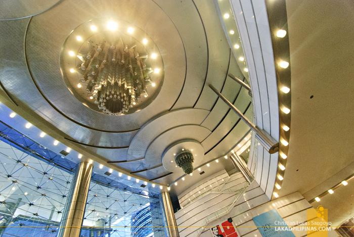 Inside the Petronas Towers in Kuala Lumpur, Malaysia