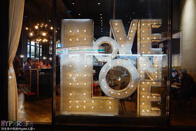 Love,ONE,健行店,台中,台中美食推薦,套餐等創意料理,樂昂,歐,法,牛排,美,美食,義式,西區,酒吧,金典誠品,附近餐廳,餐廳 @強生與小吠的Hyper人蔘~