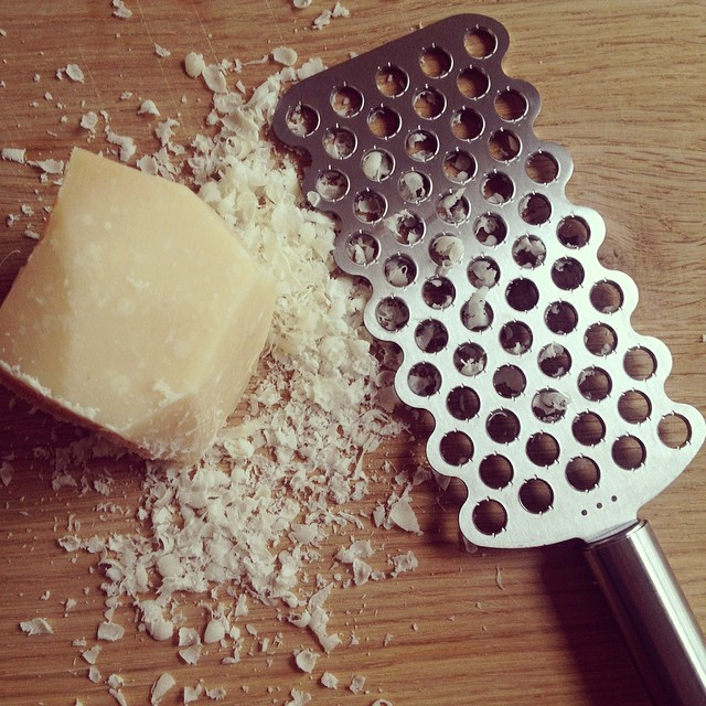 My new Parmesan grater
