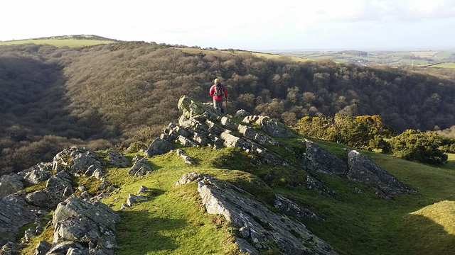 On Cleave Tor with @paulgbuck #dartmoor #sh