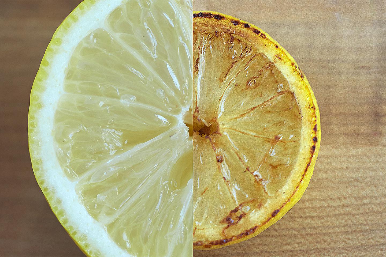 Winter Salad with Burnt Citrus Vinaigrette