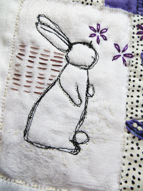 Purple Rabbit ~ detail