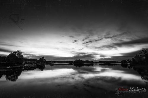nightphotography blue sunset sky lake green water night canon spring europe canonef1740mmf4lusm lithuania trakai canoneos5dmkii eosdeurope