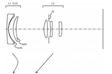 Запатентованная схема объектива Canon EF-M 22-46 f/3.5-5.6