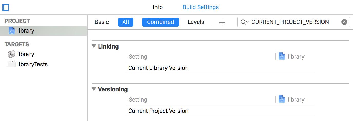 build-settings