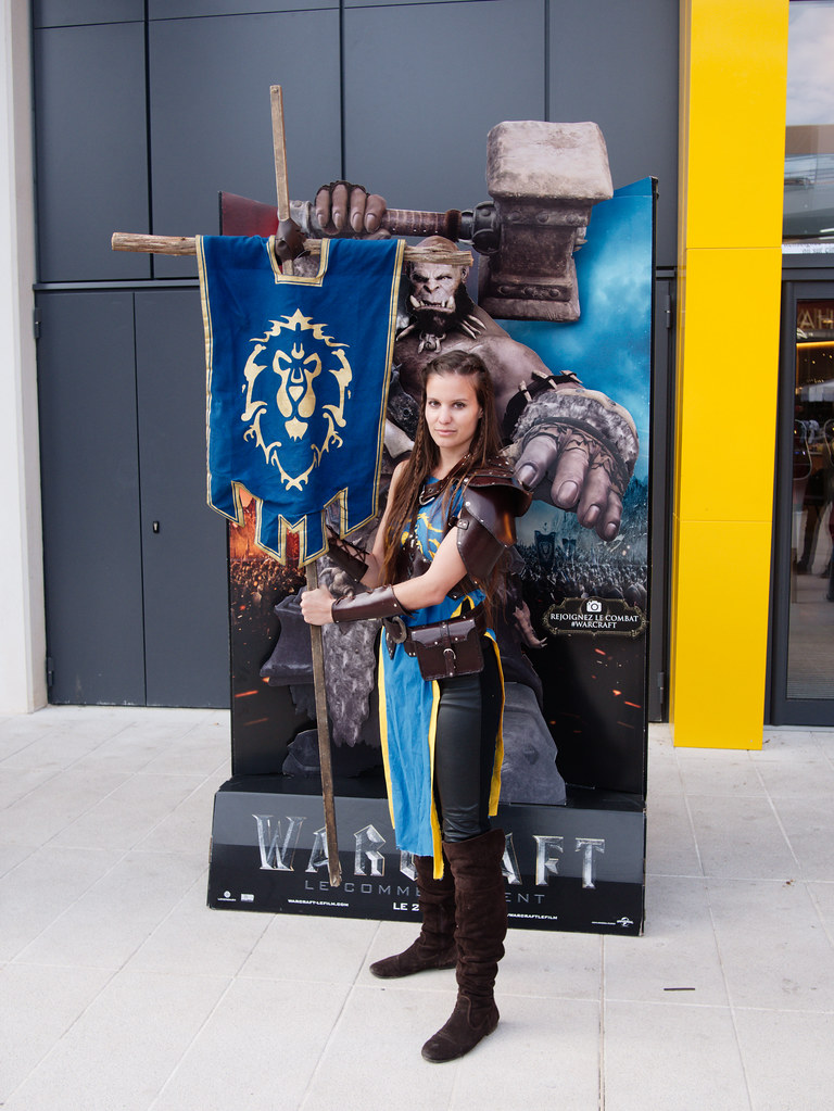 related image - Sortie Film Warcraft - Blizzard - L'Avenue 83 - La Valette du Var -2016-05-25- P1410043