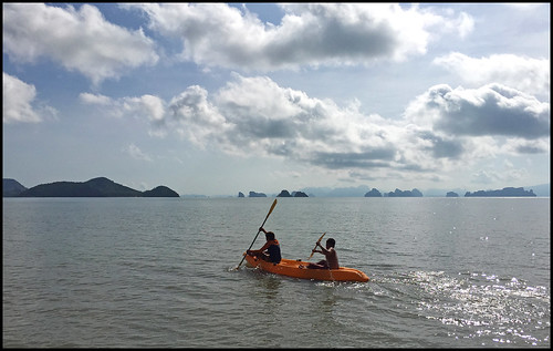 Kayaking at Koh Yao Yai