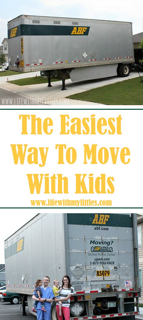 If you're looking for the easiest way to move with kids, check out this amazing post! Super helpful and such a great idea!