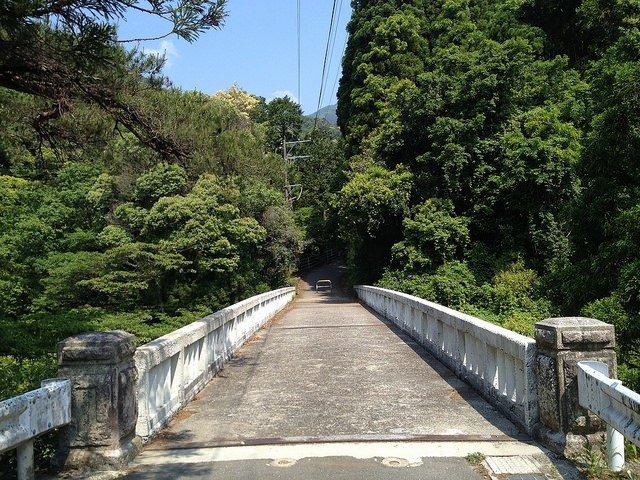 竜ヶ岳 宇賀渓キャンプ場 北河内橋