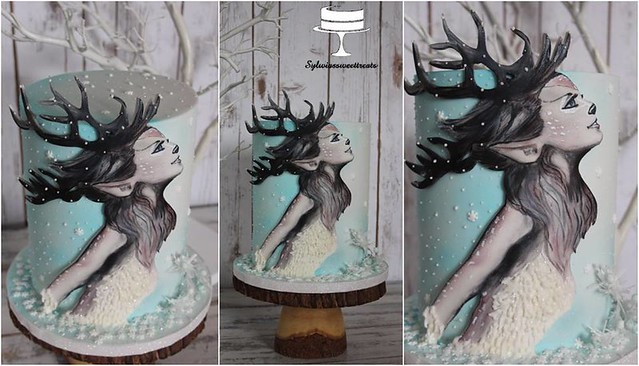 Reindeer Princess Cake by Sisi Sisunia Maria Cholka of Sylwiassweettreats