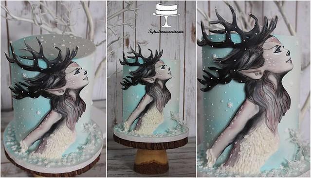 Reindeer Princess Cake by Sisi Sisunia Maria Cholka of Sylwiassweettreats