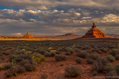 Valley of the Gods at Sunset, UT