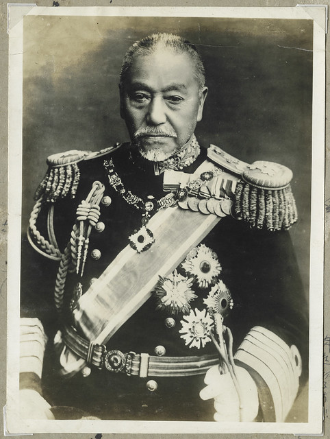 Photo:ArchJAP117 Japan, Admiral, 1930er By Hans-Michael Tappen