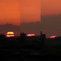 """Fim de tarde de segunda até a """"última gota"""" de sol no horizonte do #cabodesantoagostinho"""