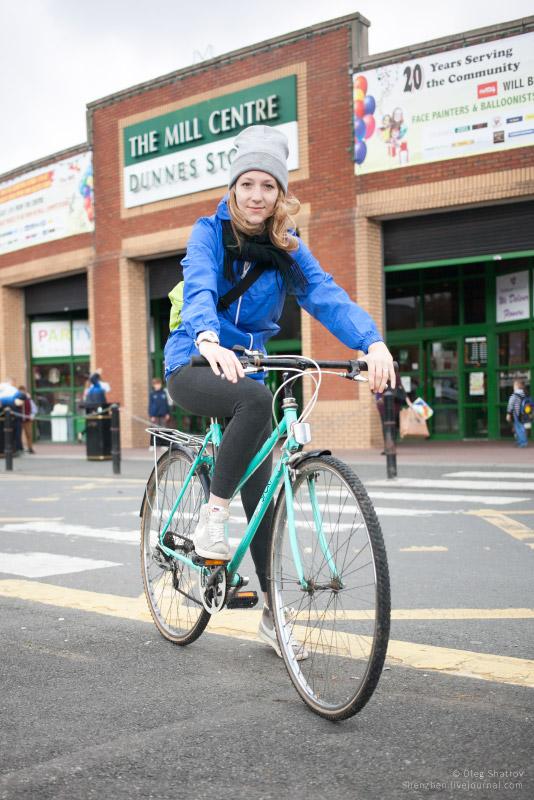 Dublin Steph bicycle