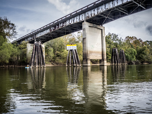 Savannah River from Stokes Bluff with LCU Nov 7, 2014, 4-18 PM Nov 8, 2014, 11-54 AM