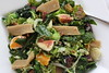 Kale & Baby Brussels With Mandarin Orange and Fig