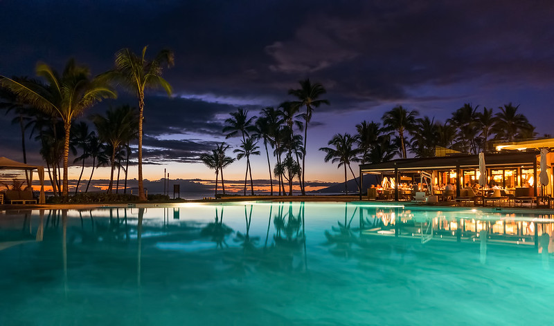 Andaz Maui Sunset, Hawaii