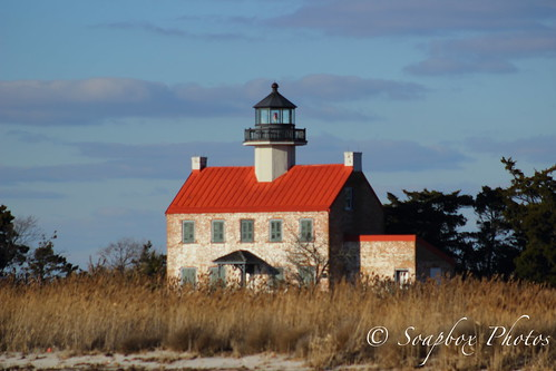 """East Point Lighthouse, Heislerville, NJ"""