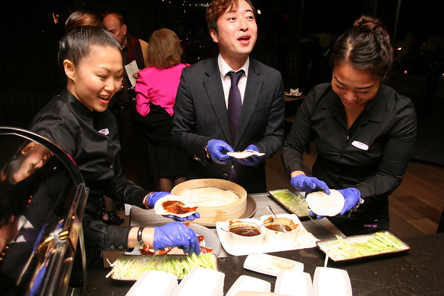 Happiness is Peking duck served!
