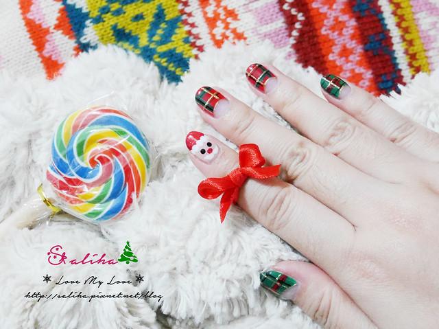 中山站聖誕節美甲光療指甲 (15)