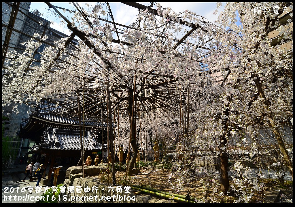 2014京都大阪賞櫻自由行.六角堂DSC_0372