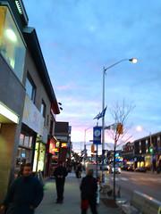 Blue sky shopping