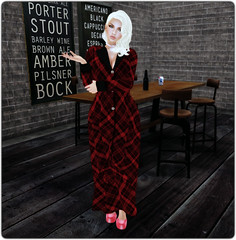GXG2014 - Fission - Lona Long Coat (Red)