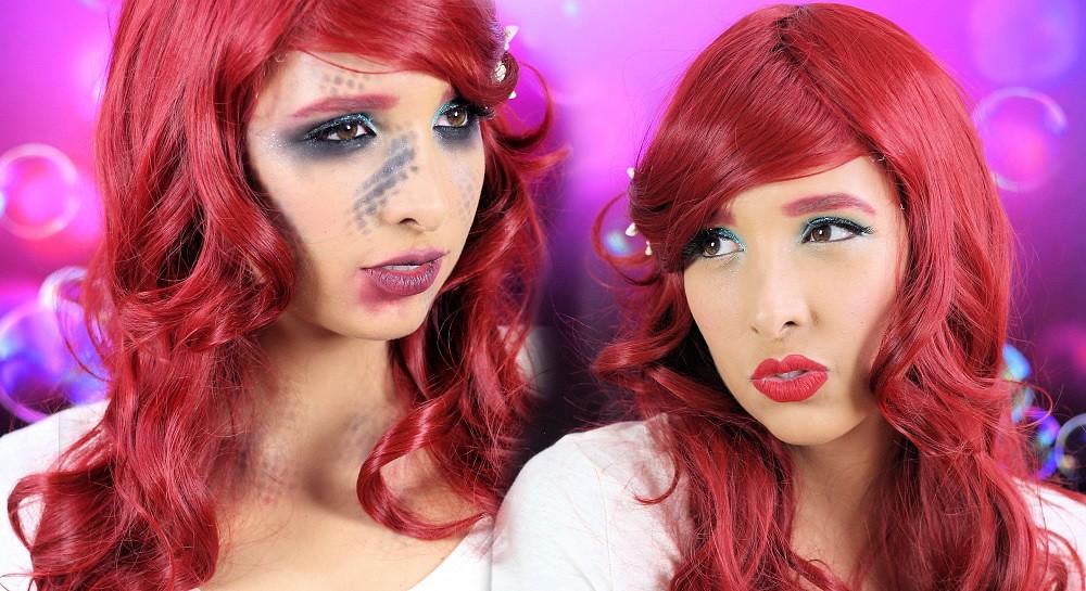 Maquillaje La Sirenita
