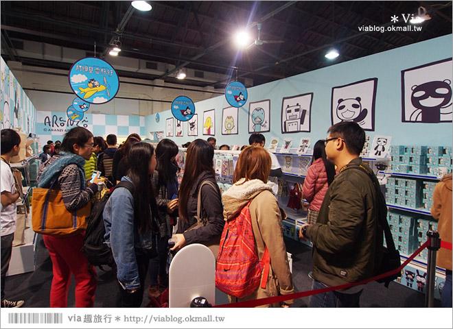 【阿朗基愛旅行】台北華山藝文特區阿朗基展~跟著阿朗基一起環遊世界去!56