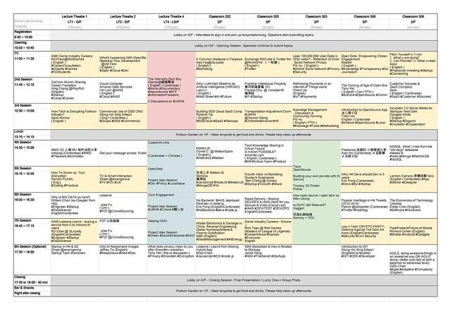BarCamp Hong Kong 2014 Schedule - Sheet1_Page_1
