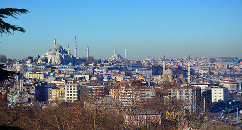 Istanbul / from Topkapi Palace