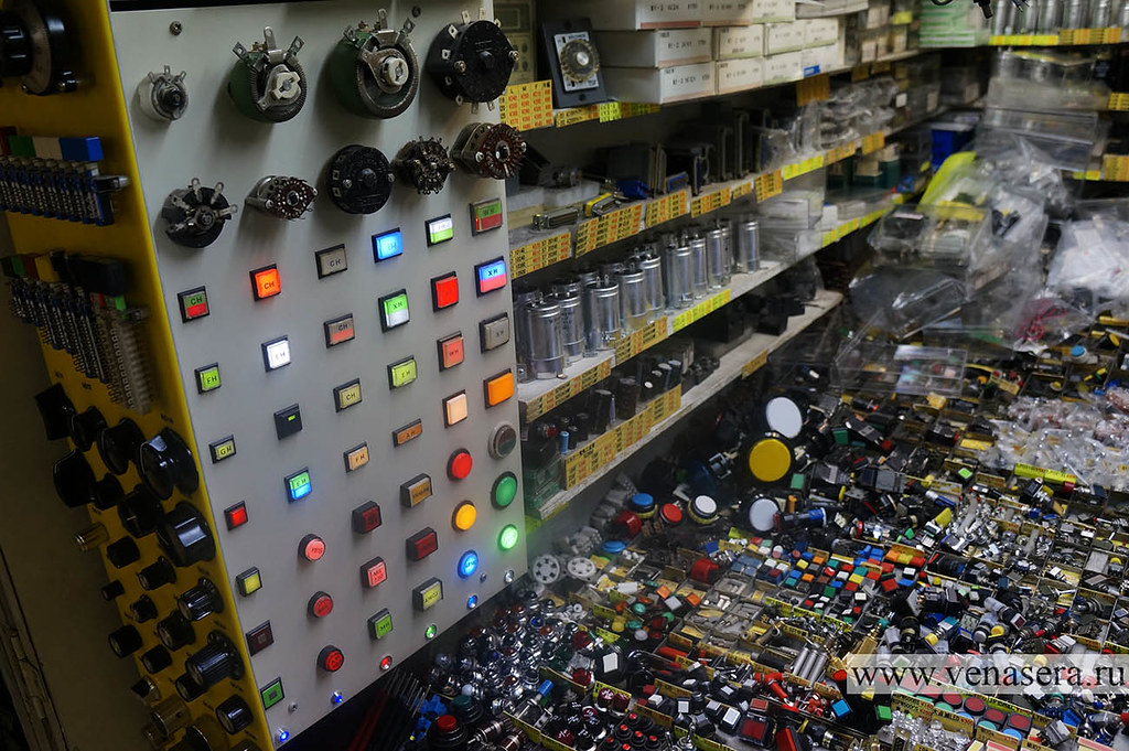 Акихабара. Рынок электроники.