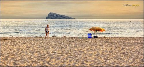 <b>Playa de Levante. (Benidorm)