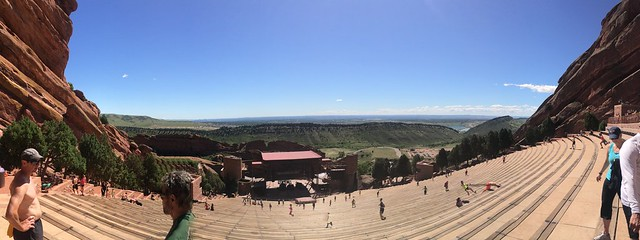 Panorama of Red Rocks