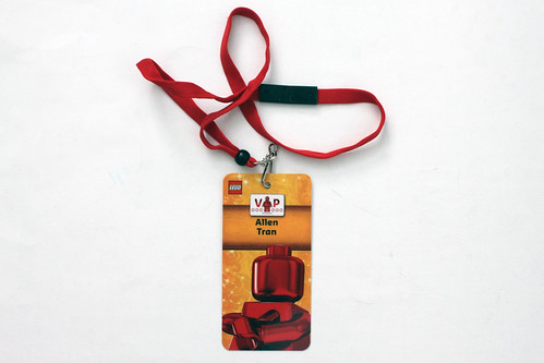 LEGO 2014 Holiday VIP Shopping Event Badge
