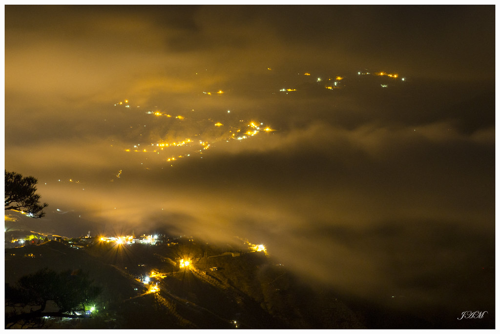 福壽山農場  夜 聖稜線 雲海 琉璃光 星軌
