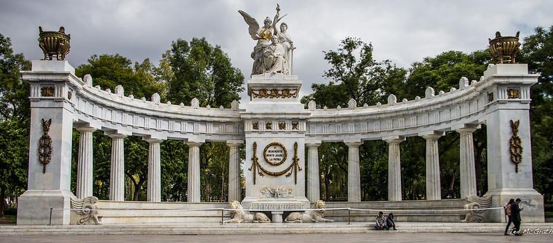 2014 - Mexico City - Benito Juarez la Patria
