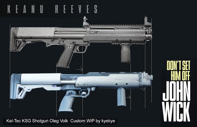 Modern War (1990s to Present) 1/6 Kel-Tec_KSG_Shotgun_Oleg ...