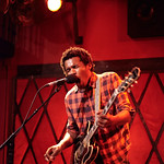 Wed, 05/11/2014 - 7:13pm - Benjamin Booker treats a room of WFUV Marquee Members to a show, 11/5/14. Hosted by Russ Borris. Photo by Gus Philippas