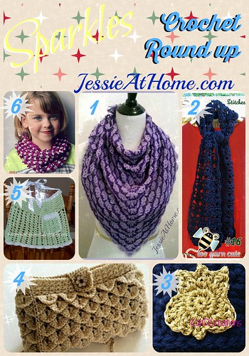 Sparkles Crochet Round Up from Jessie At Home