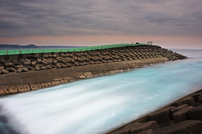 恆春 核三廠冷卻水海放出水口