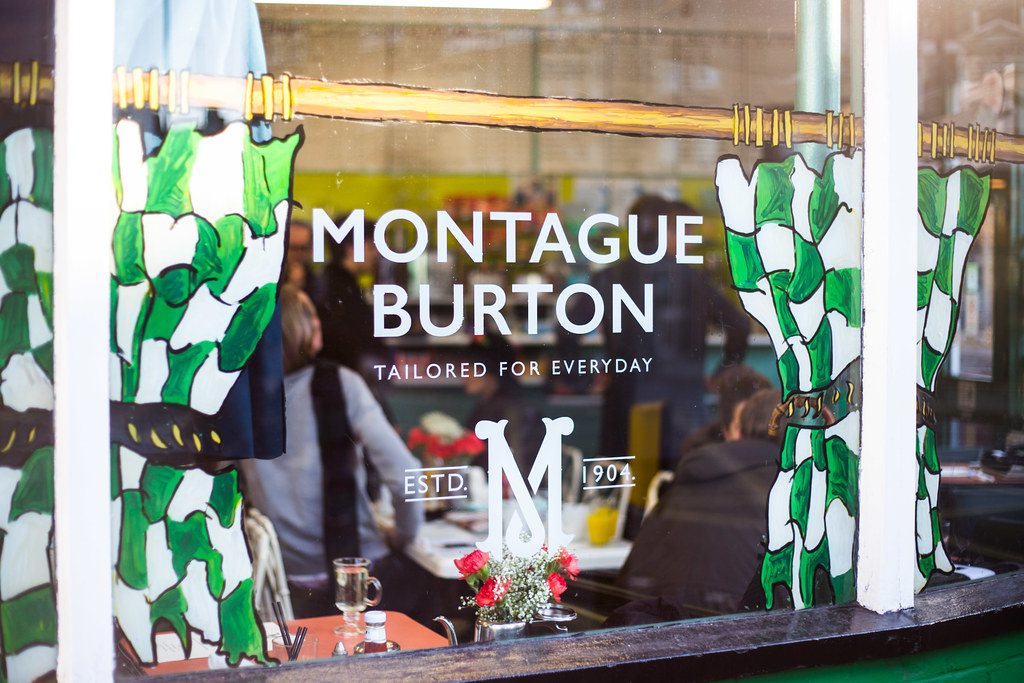Brunch with Montague Burton