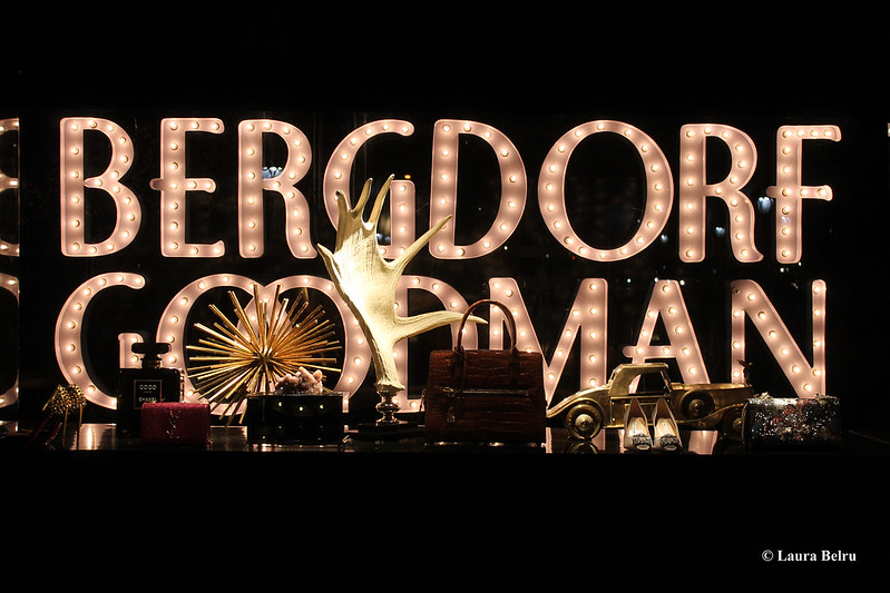 Christmas Windows in Bergdorf Goodman