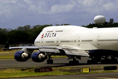 N665US Boeing 747-451 Delta Airlines