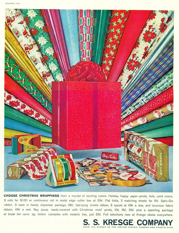 S. S. Kresge Company - published in Ladies' Home Journal - December 1959
