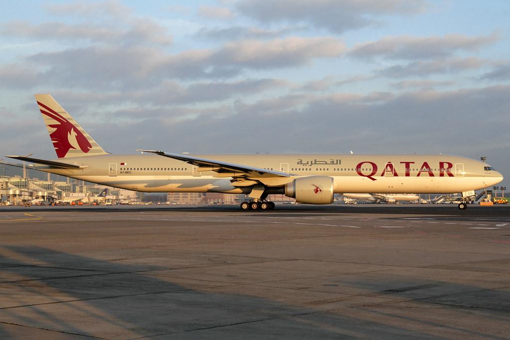 A7-BEC - B77W - Qatar Airways